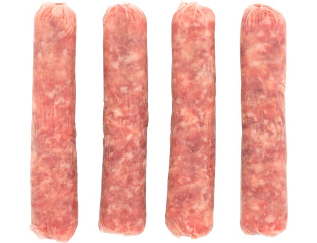Rudys Farms Reduced Fat Sausage Links, 1 Ounce -- 192 per case.