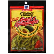 Produce Partners Spicy Great Guacamole Mix, 1 Ounce -- 12 per case
