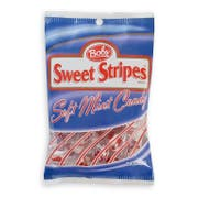 Bobs Sweet Stripes Mint Candy, 5.05 Ounce -- 12 per case.