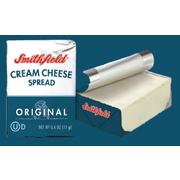 Smithfield Square Portions Plain Cream Cheese Spread -- 12 per case