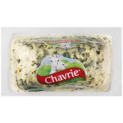 Savencia Chavrie Cucumber and Chive Goat Cheese Log, 4 Ounce -- 6 per case