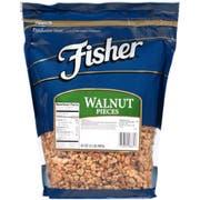Fisher Chefs Naturals Nugget Walnut Piece, 2 Pound -- 3 per case.