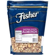 Fisher Chefs Naturals Sliced Almond, 2 Pound, 18862 -- 3 per case.