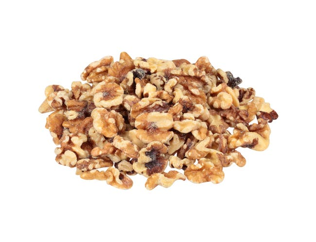 Fisher Walnut Halves and Pieces, 32 Ounce -- 3 per case.