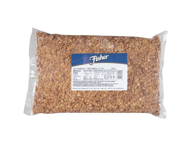Fisher Honey Granola, 5 Pound -- 1 each.