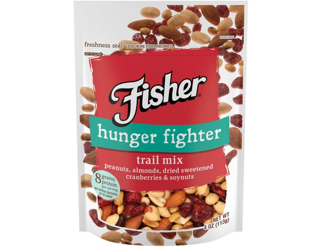 Fisher Hunger Fighter Trail Mix, 4 Ounce -- 6 per case.
