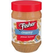 Fisher Creamy Peanut Butter, 28 Ounce -- 12 per case.