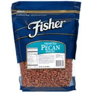Fisher Chefs Naturals Fancy Frosted Pecan Piece, 2 Pound -- 3 per case.