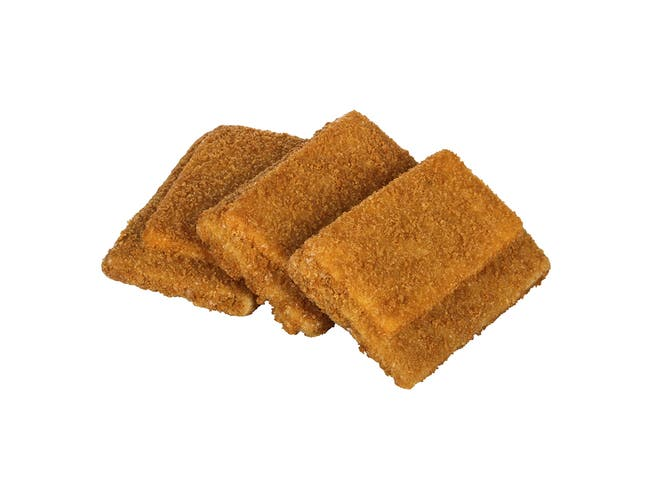 High Liner Oven Ready Whole Grain Rich Breaded Pollock and Cheese Rectangles, 20 Pound -- 1 each.