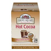 Grove Square Milk Chocolate Hot Cocoa Mix -- 96 per case.