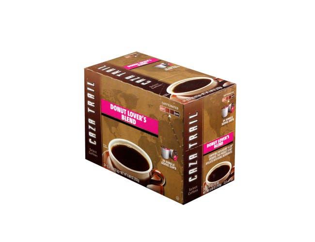 Caza Trail Original Donut Lovers Blend, 8.88 Ounce - 24 per pack -- 4 packs per case.