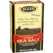 Alessi Kosher Sea Salt, 36.8 Ounce -- 6 per case