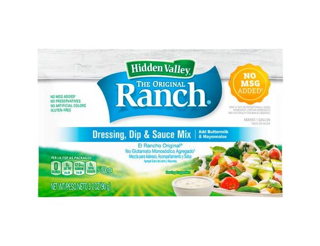Hidden Valley Original Ranch Dressing Dry Mix, 3.2 Ounce -- 12 per case..