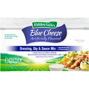Clorox Hidden Valley Blue Cheese Dressing Dry Mix, 3.1 Ounce -- 18 per case.