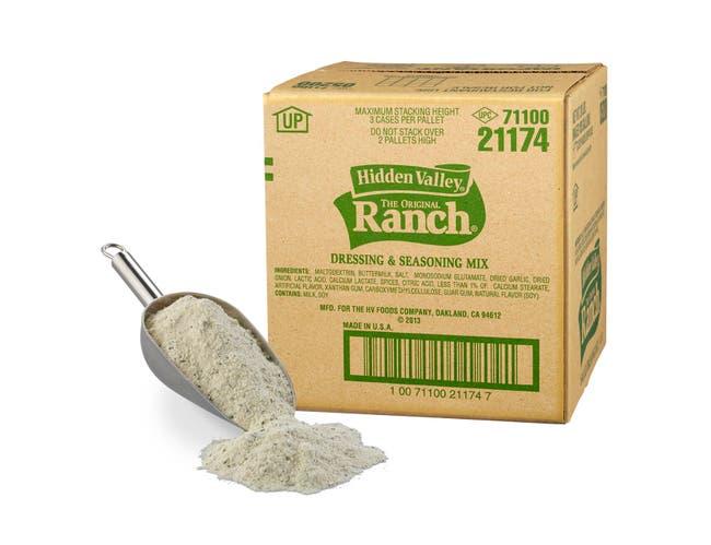 Hidden Valley Original Ranch Dressing and Seasoning Mix, 18 Pound -- 1 each.