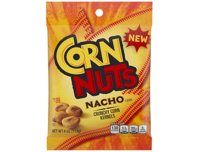 Corn Nuts Nacho Flavored Crunchy Corn Kernels, 4 Ounce -- 12 per case