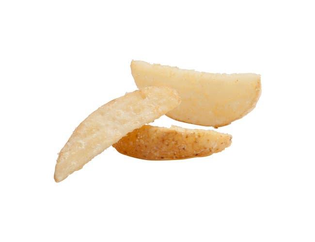 Natural Crisp 10 Crinkle Cut Wedge Fries, 5 Pound -- 6 per case.