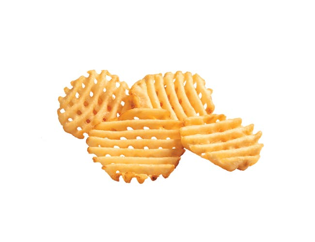 Conquest Skinned Lattice Fries, 4.5 Pound -- 6 per case.