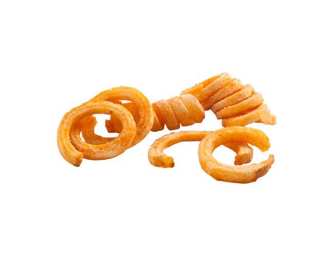 Simplot SeasonedCrisp Savory Loops French Fry, 5 Pound -- 6 per case.