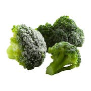 Simplot IQF Broccoli Florets - 32 oz. package, 12 packages per case