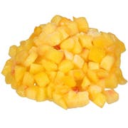 Dole Individually Quick Frozen 3/8 inch Diced Peach, 30 Pound -- 1 each