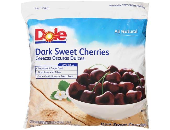 Dole Individual Quick Frozen Dark Sweet Cherry, 5 Pound -- 2 per case.