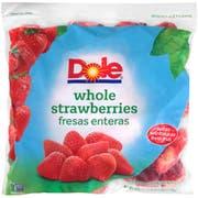 Dole Individual Quick Frozen Strawberry, 5 Pound -- 2 per case.