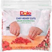 Dole Individual Quick Frozen Diced Strawberry, 5 Pound -- 2 per case.