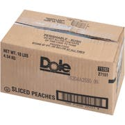 Dole Sliced Peach in Syrup, 10 Pound -- 1 each.