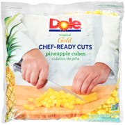 Dole Individual Quick Frozen Cubed Pineapple, 5 Pound -- 2 per case.