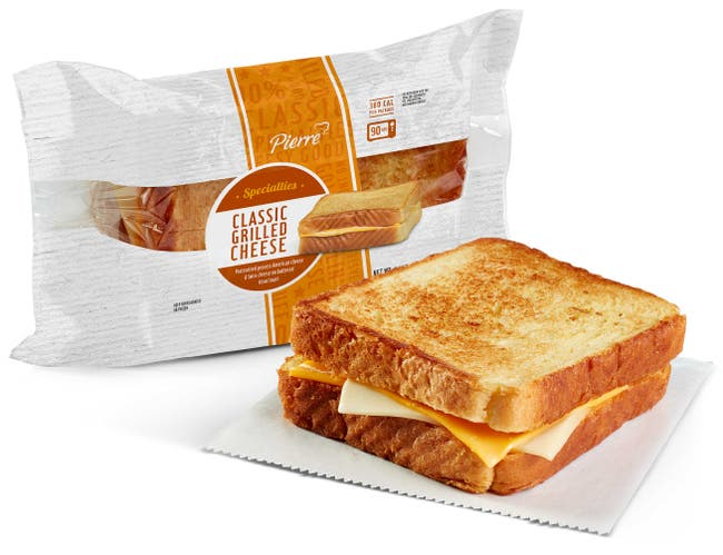 Pierre Classic Grilled Cheese, 4.1 Ounce -- 12 per case.