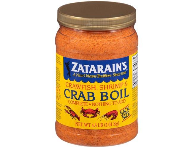 Zatarains Pre-Seasoned Crab and Shrimp Boil, 72 Ounce -- 6 per case.