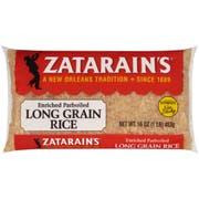 Zatarains Extra Long Grain Parboiled Rice, 1 Pound -- 30 per case.