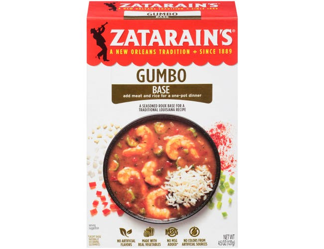 Zatarains Gumbo Base, 4.5 Ounce -- 12 per case.