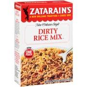 Zatarain`s Dirty Rice Mix, 40 oz. -- 8 per case