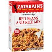 Zatarain`s Red Beans & Rice Mix, 30 oz. -- 8 per case
