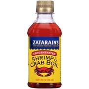 Zatarains Concentrated Liquid Sea Crab and Shrimp Boil, 8 Ounce -- 12 per case.