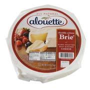 Alouette Brie Soft Ripened Cheese, 2 Pound -- 2 per case.