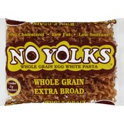 No Yolks Whole Grain Extra Wide Egg Noodle, 12 Ounce -- 12 per case.