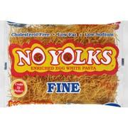 No Yolks Fine Egg Noodle, 12 Ounce -- 12 per case.