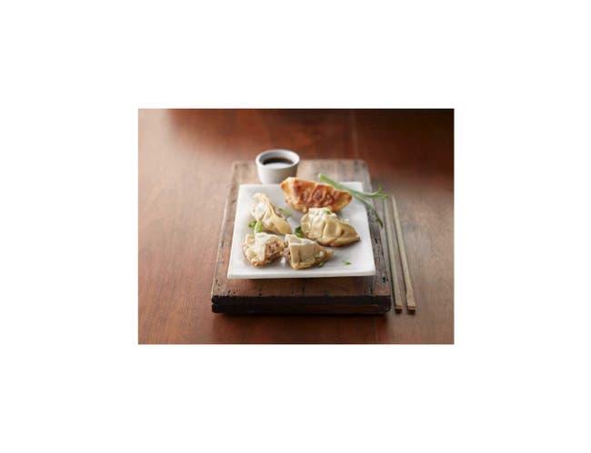 Minh Dumpling Pork Potstickers -- 170 per case.