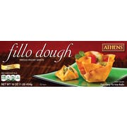 Athens Foods Pastry Fillo Dough Sheet, 16 Ounce -- 12 per case.