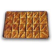 Athens Foods Walnut Triangle Baklava -- 48 per case.