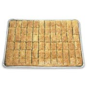 Athens Foods Walnut Rectangle Baklava - Dessert -- 72 per case.