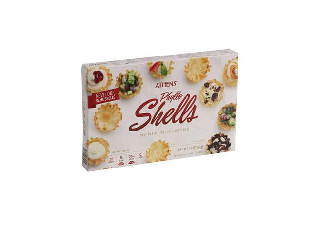 Athens Foods Mini Fillo Shell, 1.9 Ounce -- 12 per case.