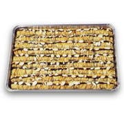 Athens Foods Chocolate Almond Roll Baklava - Dessert -- 45 per case.
