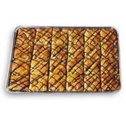 Athens Foods Chocolate Triangle Baklava - Dessert -- 48 per case.