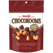 Chocorooms - Milk and Dark with Crispy Cracker, 5 Ounce Pouch -- 12 per case.