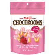 Chocorooms - Strawberry with Crispy Cracker, 5 Ounce Pouch -- 12 per case.