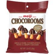 Chocorooms - Milk and Dark with Crispy Cracker, 1.34 Ounce -- 32 per case.